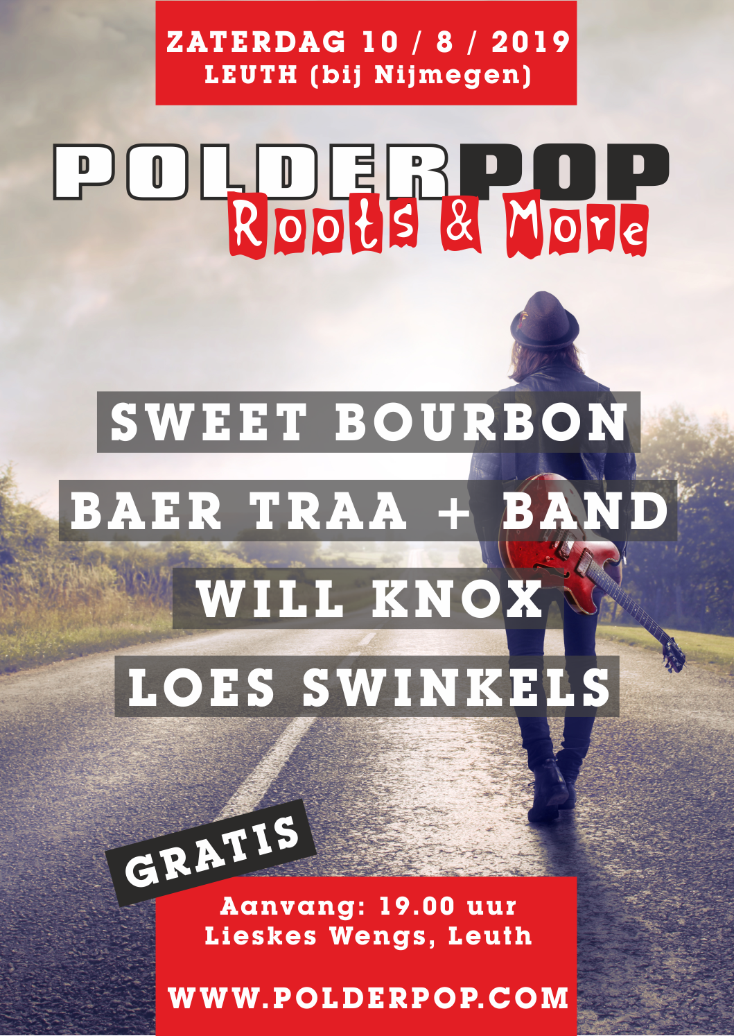 Naar PolderPop Roots & More